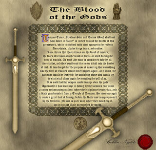 Blood scroll
