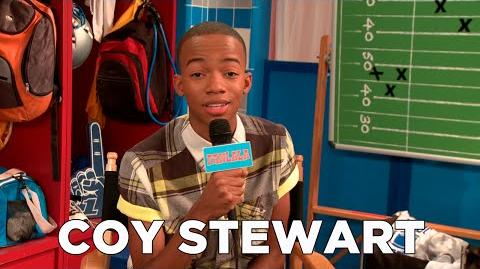 Bella and the Bulldogs star Coy Stewart Exclusive!