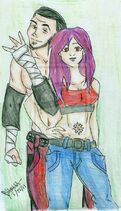 Beatriz and matt hardy by enigmaticpolly-d3ch43w