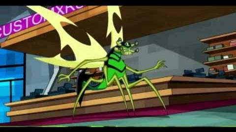 Ben 10 Omniverse - Stinkfly Transformation 2