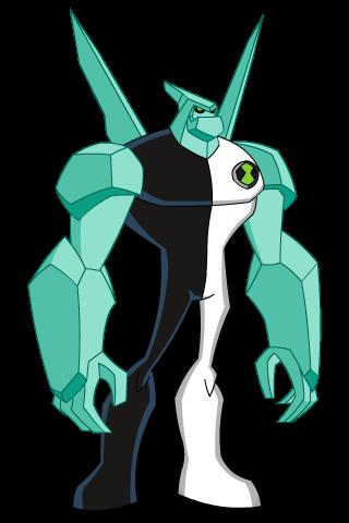 image diamondhead omniverse 11 year old png ben 10 list wiki