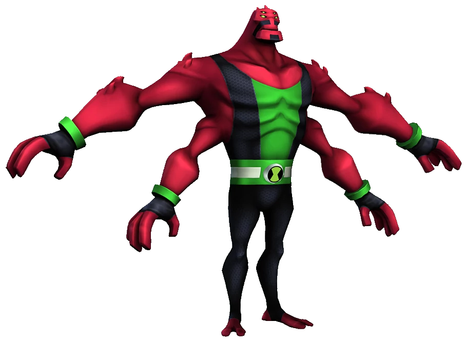 Image Four Arms Omniverse Video Game Png Ben 10 List Wiki