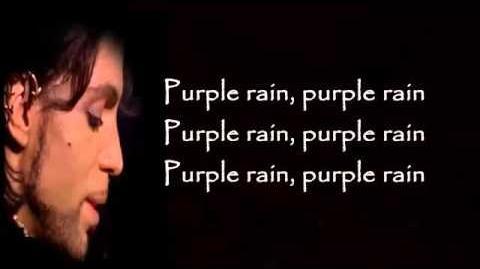 Prince Purple Rain Lyrics