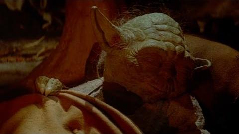 Star Wars Return of the Jedi- Death of Yoda -HD-
