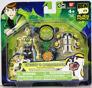 Ben 10 Alien Creation Eyeguy and Cannonbolt