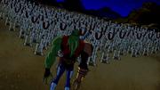Vilgax e seu exército de Bioids