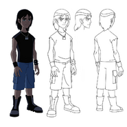UA Young Kevin Model Sheet