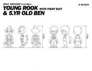Young Rook and 5YO Ben Figure Measurements
