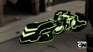Venti-nave Rex de cerca