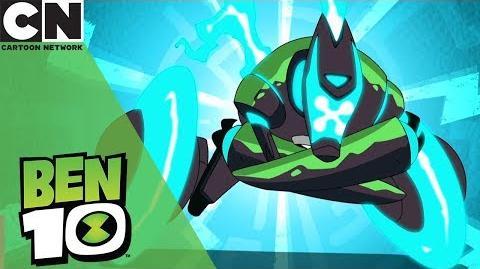 Ben 10 All Omni-Enhanced Aliens Cartoon Network