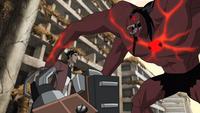 Alpha Four Arms vs. Rex