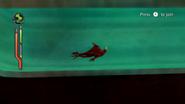 Jetray underwater