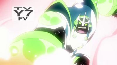 Atomix y Alien X Fusionados