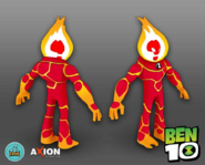 Ben 10 Video Game Heatblast