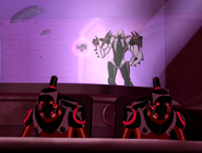 Vilgax y sus robots buscando a six six 1