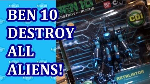 Ben 10 Destroy All Aliens Toys Preview w Retaliator Hong Kong Licensing Show