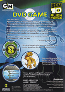 AF DVD Game Back Cover