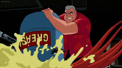 El abuelo Max venciendo a Medusa.