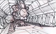 Unidade de contenção do Nulificador desenhado por Nollan Obena