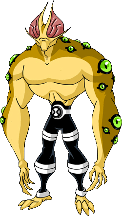 Eye Guy  Ben 10 Wiki  FANDOM powered by Wikia