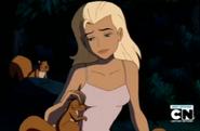 Eunice con las ardillas
