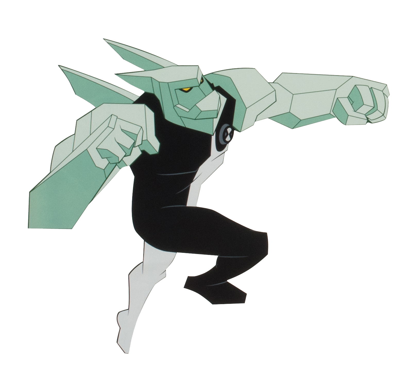 image diamondhead pose png ben 10 wiki fandom powered by wikia