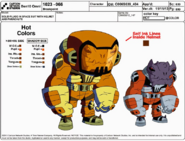 Solid Plugg in Spacesuit Model Sheet
