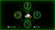 Alien change screen