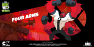 Ben 10 Heroes Four Arms