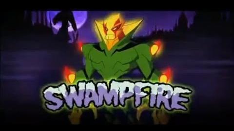 Ben 10 Omniverse- Alien Reveal - Swampfire