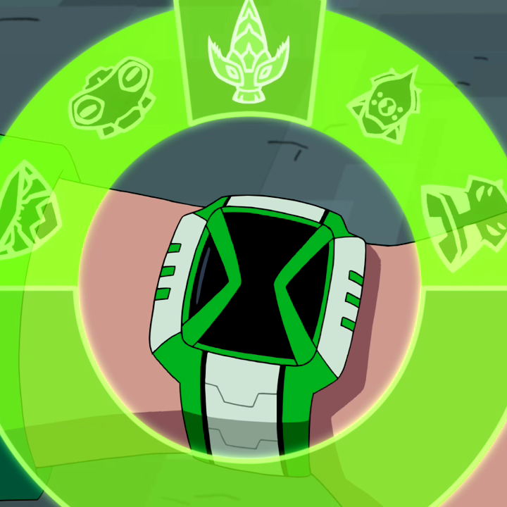 Omnitrix screen