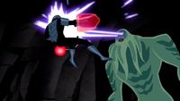 Vilgax mata a un Caballero por su ataque...
