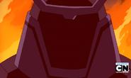 Robot Techadon gris cara