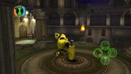 Armodrillo using gears