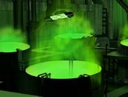 Desecho radioactivo del doctor animo