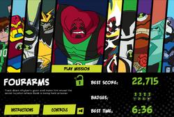 Four arms alien unlock