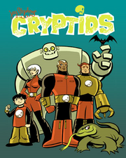 Capa original de Cryptids