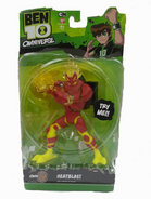 Heatblast toy omniverse in box