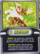 Heatblast Cereal Card