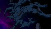 O corpo petrificado de Vilgax