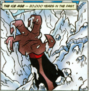 Vilgax 3000 na Era do Gelo