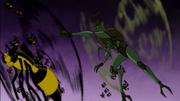 Clancy voando e comandando insetos na Série Original