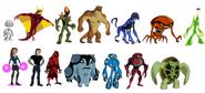 Todos os personagens de game creator