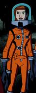 Gwen Orange Spacesuit