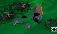 Eunice en el estanqe Xenocyte