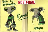 Grey Matter OV teen, Azmuth OV concept art 1