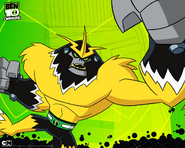 Ben 10 Omniverse ShockSquatch Wallpaper