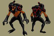 Ben 10 Vilgax crewmen design by Devilpig