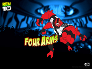 Four Arms action pose 2