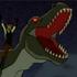 Mutant tyrannosaurus character